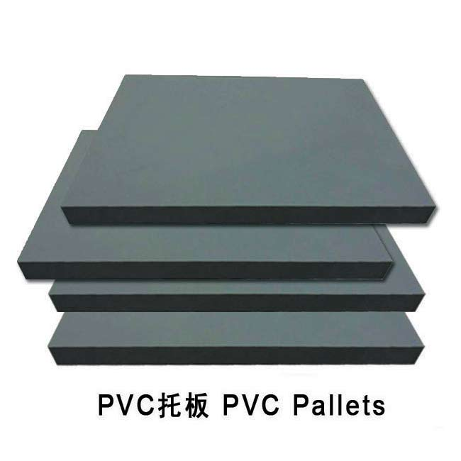 PVC pallets for block making machine