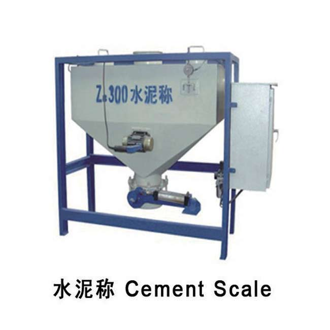 Cement scale